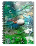 Lost In Space 2 Spiral Notebook