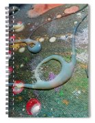 Lost In Space 6 Spiral Notebook
