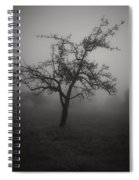 Lost In The Fog Spiral Notebook