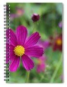 Lost In The Garden Spiral Notebook