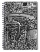 Lost In The Weeds Spiral Notebook