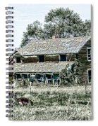 Lost In Wyoming Spiral Notebook