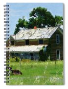 Lost In Wyoming II Spiral Notebook