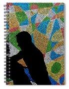 One Kiss Spiral Notebook