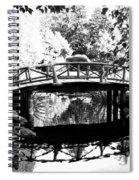 Lost Lagoon Bridge  Spiral Notebook
