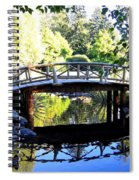 Lost Lagoon Bridge Spiral Notebook
