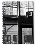 Lost Lake Black And White Spiral Notebook