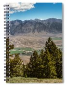 Lost River Mountains Spiral Notebook