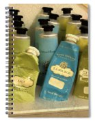Lotions And Potions Spiral Notebook