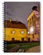 Lotrscak Tower Zagreb Famous Landmark Spiral Notebook