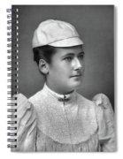 Lottie Dod (1871-1960) Spiral Notebook