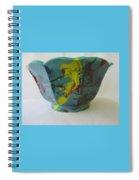 Lotus Bowl Plant Pot Ceramic Spiral Notebook
