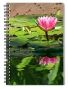 Lotus Flower Reflections Spiral Notebook