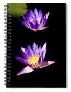 Lotus Flowers Spiral Notebook