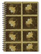 Lotus In 16 Bits Spiral Notebook