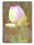 Lotus Looking To Bloom Spiral Notebook