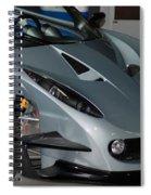 Lotus Spiral Notebook