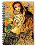 Lotus Pool Spiral Notebook