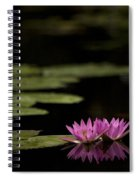 Lotus Reflections Spiral Notebook