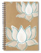 Lotus Serenity Spiral Notebook