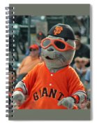 Lou Seal San Francisco Giants Mascot Spiral Notebook