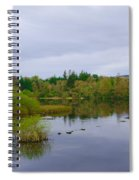 Lough Eske In The Morning Spiral Notebook
