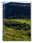 Lough Tay Below Luggala Mountain Spiral Notebook