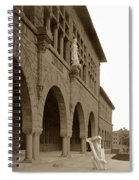 Louis Agassiz In The Concrete Most Famous Image Associated With Stanford University 1906 Earthquake Spiral Notebook