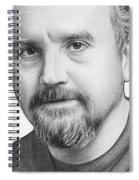 Louis Ck Portrait Spiral Notebook
