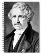Louis Daguerre (1789-1751) Spiral Notebook