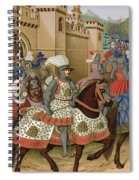 Louis Xii Leaving Alexandria Spiral Notebook