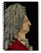 Louis Xiv 1638-1715 1706 Mixed Media Spiral Notebook