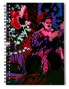 Louise At Jazz Corner Spiral Notebook