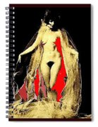 Louise Brooks Nude Circa 1928 Spiral Notebook