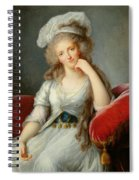 Louise-marie Adelaide, Duchesse Dorleans Oil On Canvas See Also 91622 Spiral Notebook