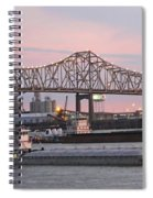 Louisiana Baton Rouge River Commerce Spiral Notebook