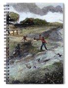 Louisiana Broken Levee Spiral Notebook