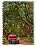 Louisiana Dream Drive  Spiral Notebook