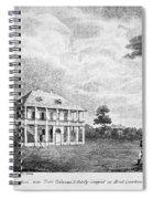 Louisiana Planter's Home Spiral Notebook