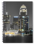 Louisville Lights Up Spiral Notebook