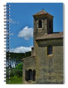 Lourmarin Castle Spiral Notebook