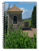 Lourmarin Castle In Provence Spiral Notebook