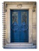 Louvre Doorway - Paris Spiral Notebook