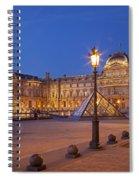 Louvre Twilight Spiral Notebook