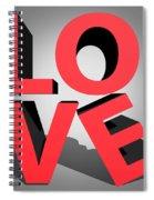 Love 2 Spiral Notebook