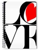 Love All Around Spiral Notebook