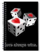 Love Always Wins Spiral Notebook