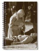 Love And War Spiral Notebook