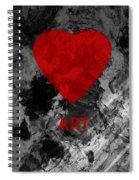 Love Art 1 Spiral Notebook
