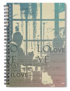 Love At Longwood Spiral Notebook